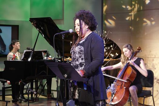 Spinning On Earth in The Greene Space with Jesse Paris Smith, Rachel Marco-Havens, and Rebecca Foon