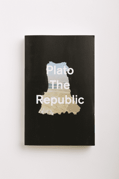 <em>The Republic</em> by Plato. From <em>Cover</em> by Peter Mendelsund