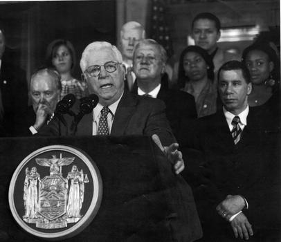 Ravitch after being named Lieutenant Governor of New York in 2010, where he first became interested in the balancing of state budgets
