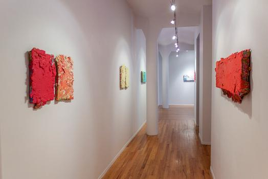 "Installation view of ""Richard Tsao: Nam Wan"" at Art Projects International, New York, in 2011."