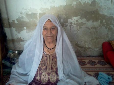 Ghada Ageel's grandmother.