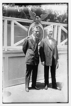 General Smedley Butler and Al Smith.