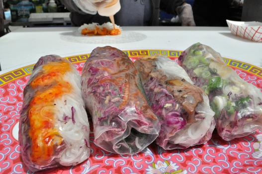 "Vietnamese ""Summer Rolls"" from Best Summer at Smorgasburg"
