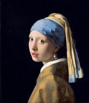 Johannes Vermeer (1632–1675). Girl with a Pearl Earring, c. 1665.