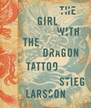 <em>The Girl With The Dragon Tattoo</em> by Stieg Larsson. From <em>Cover</em> by Peter Mendelsund