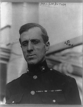 Major Smedley D. Butler in 1910