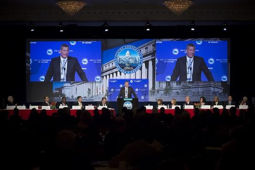 Mayor Bill de Blasio at US Conference of Mayors on Thursday