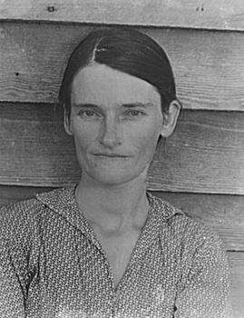 Walker Evans. Allie Mae Burroughs, 1936.