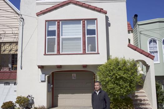Andrew Lam hadn't returned to the house his parents purchased in 1981 in 34 years. His parents now live in Fremont.