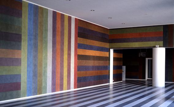 "A scene from Chris Teerink's documentary ""Sol LeWitt,"" showing an installation by the Sol LeWitt."