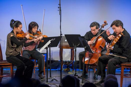 """Ying Quartet at """"From China to America"""" at New York HIstorical Society on Jan. 10, 2014"""