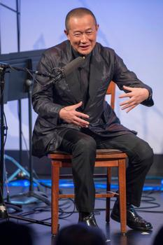 """Tan Dun hosting """"From China to America"""" at New York HIstorical Society on Jan. 10, 2014"""