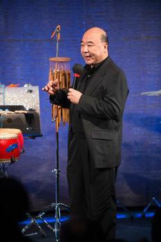 "Zhou Long at ""From China to America"" at New York HIstorical Society on Jan. 10, 2014"