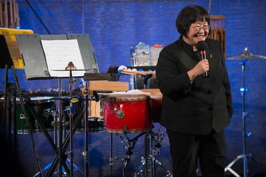 "Chen Yi at ""From China to America"" at New York HIstorical Society on Jan. 10, 2014"