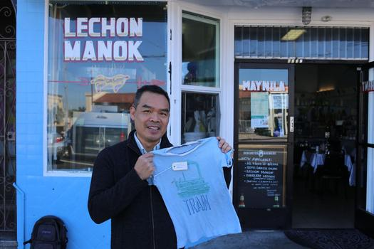 Andrew Lam's aunt and mother owned and operated the first Vietnamese restaurant in Daly City. Today it's called Manila Restaurant, and it's owned by a Filipino family.