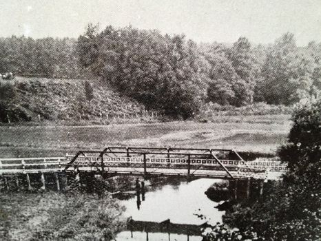 Matawan Creek around the time of the 1916 shark attacks.