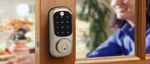 Yale Real Living touch pad deadbolt