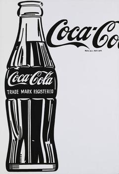 Andy Warhol's <em>Large Coca-Cola</em> sold for $35.4 million at Sotheby's, higher than its $25 million high estimate.
