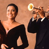 Soprano Kathleen Battle and trumpeter Wynton Marsalis collaborated on a 1992 album of Baroque music.