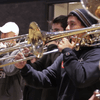 Members of the Berklee Contemporary Symphony Orchestra in a flash mob perform Jupiter from Holst's 'Planets.'