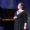 Soprano Jamie Barton singing in The Greene Space on Sept. 3, 2015