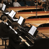 Israeli Piano Ensemble MultiPiano Playing Bach's Concerto for Four Harpsichords in A minor.