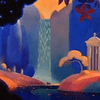 A scene from Walt Disney's 'Fantasia.'