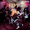 Album cover for Kiss Alive!