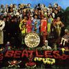 Album cover for the Beatles' Sgt. Pepper's Lonely Hearts Club Band