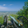 A lookout in Tennessee's Chickamauga and Chattanooga National Military Park, the site of a major 1863 Civil War battle