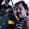 Director Gerardo Naranjo on the set of Miss Bala