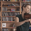 Hilary Hahn at NPR's Tiny Desk.