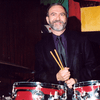 Leonard Lopate on the drums at the Vanguard, 2001