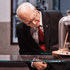 Professor John Mainstone, the late custodian of the Pitch Drop Experiment -- the world's longest running laboratory experiment