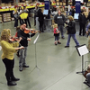 Detroit Symphony serenades IKEA shoppers