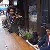 Violinist Andrei Matorin improvises with pianist Dotan Negrin.