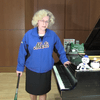 Sara Davis Buechner introduces her arrangement of 'Meet the Mets'