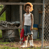 Quvenzhané Wallis as Hushpuppy in Benh Zeitlin's film Beasts of the Southern Wild
