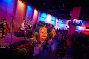 Oompa Loompas dance to Primus in the Greene Space.