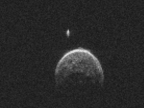 moon asteroid with its own - photo #23