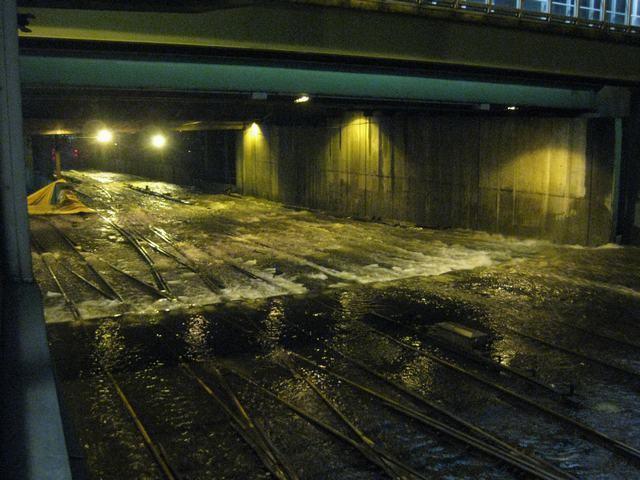 Sandy Flood Tunnels Flood During Sandy