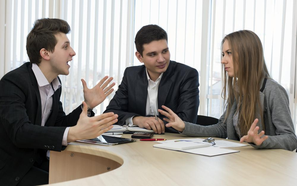 a story of a conflict we had with my past boss But my colleague knew it was the boss who had the problem, not she in fact there was a happy ending to that story: the boss eventually lost her job because she treated underlings so poorly.