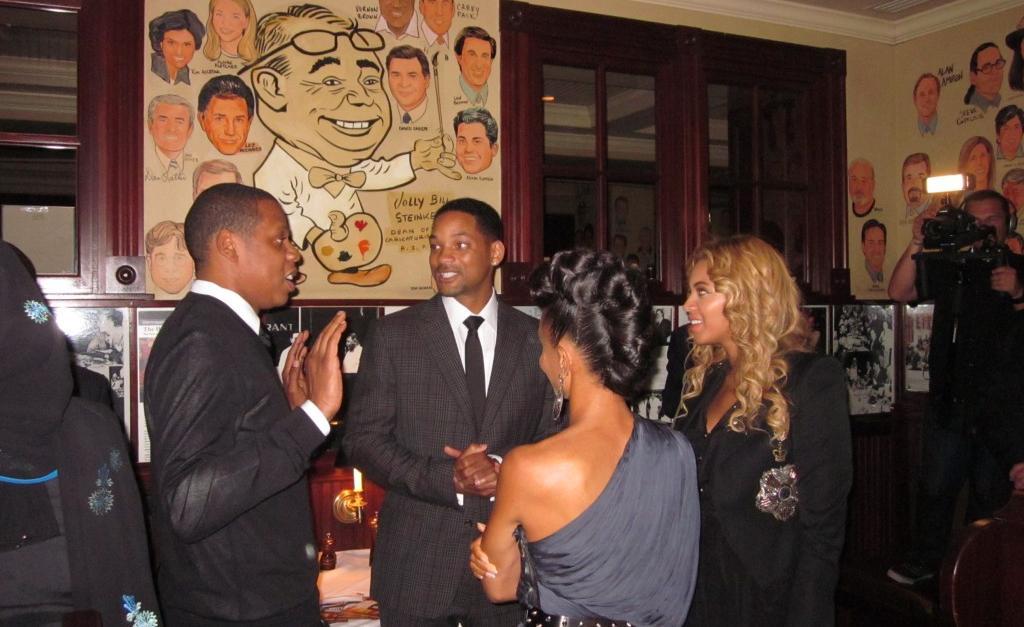 Jay-Z, Beyonce, Will S... Angelina Jolie