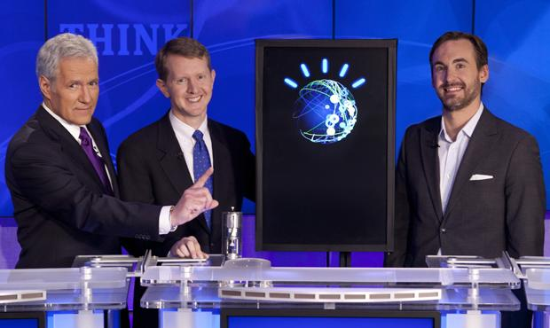 IBM's Watson defeated two Jeopardy champions in 2011.