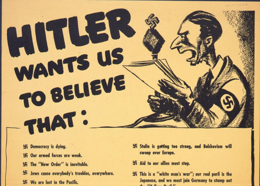 Adolf Hitler also published a list of crimes committed by