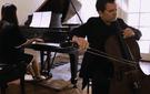 Brinton Smith and Evelyn Chen perform an excerpt from Castelnuovo-Tedesco's forgotten Cello Concerto.