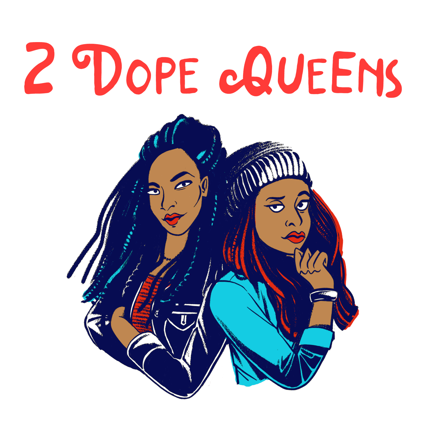 Image result for 2 Dope Queens