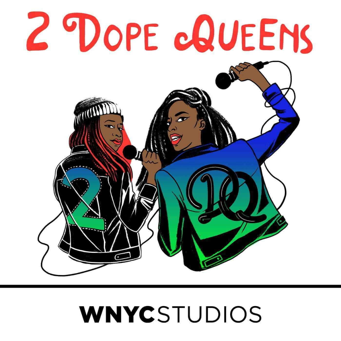 2 Dope Queens Cover Art