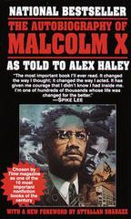 'The Autobiography of Malcolm X,' Ballantine Books paperback