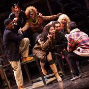 The Havana cast of 'Rent'